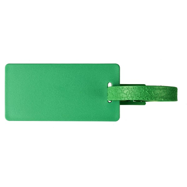 Štítek na zavazadla s okénkem River - Zelená
