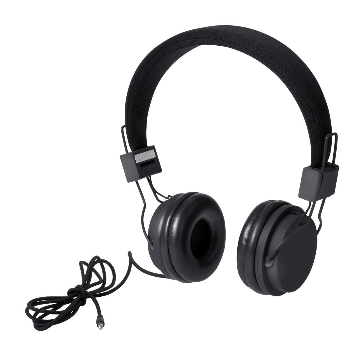 Sluchátka Neymen - Černá