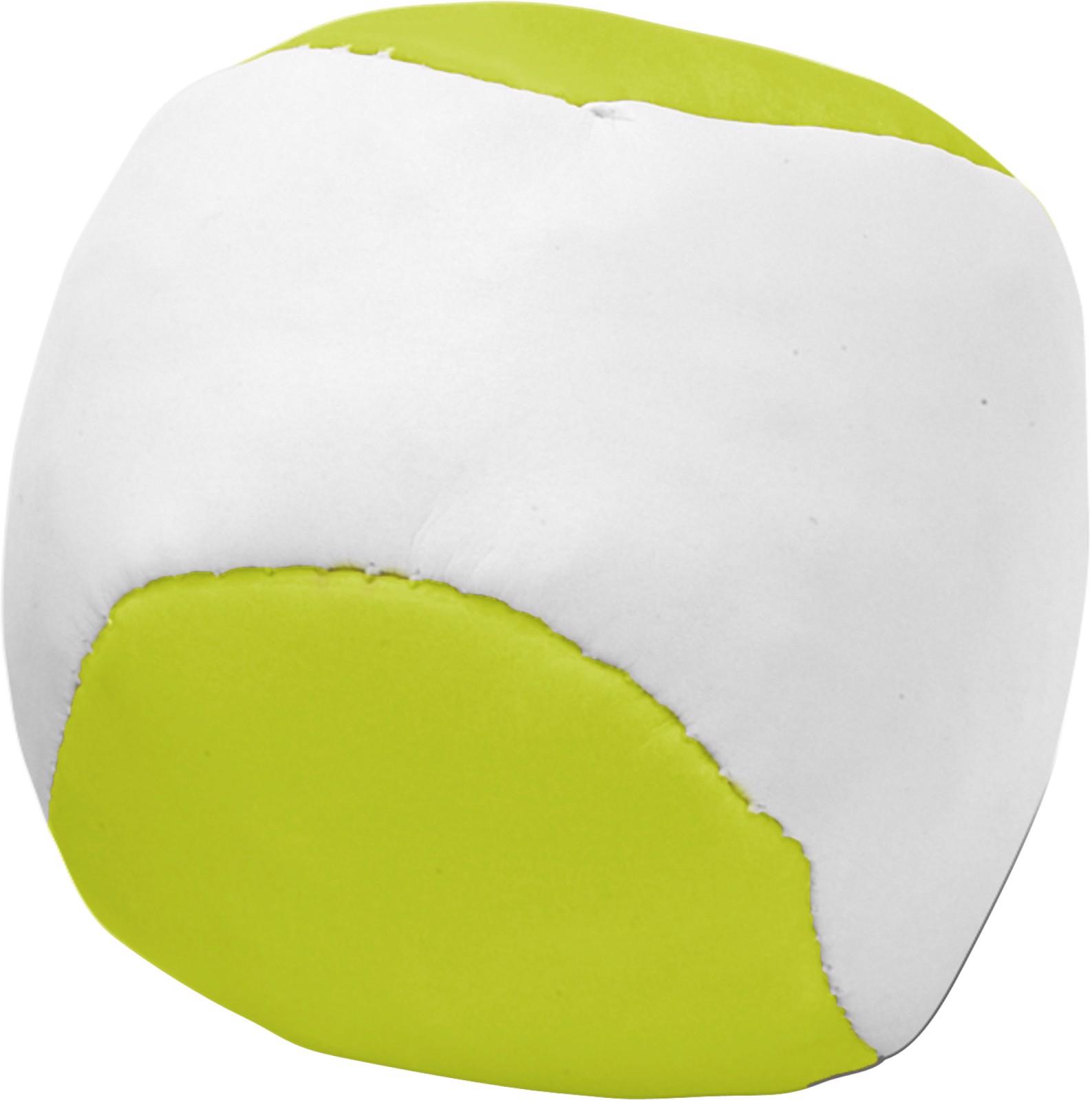 Imitation leather juggling ball - Lime
