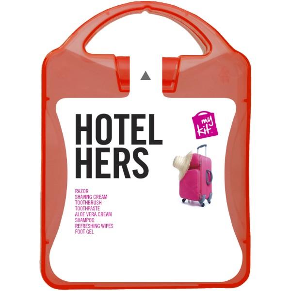 MyKit Hotel Hers Travel Set - Red