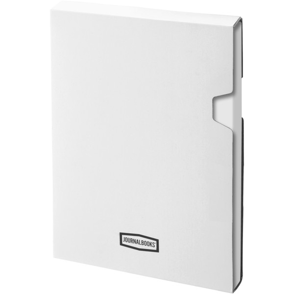 Classic A6 hard cover pocket notebook - White