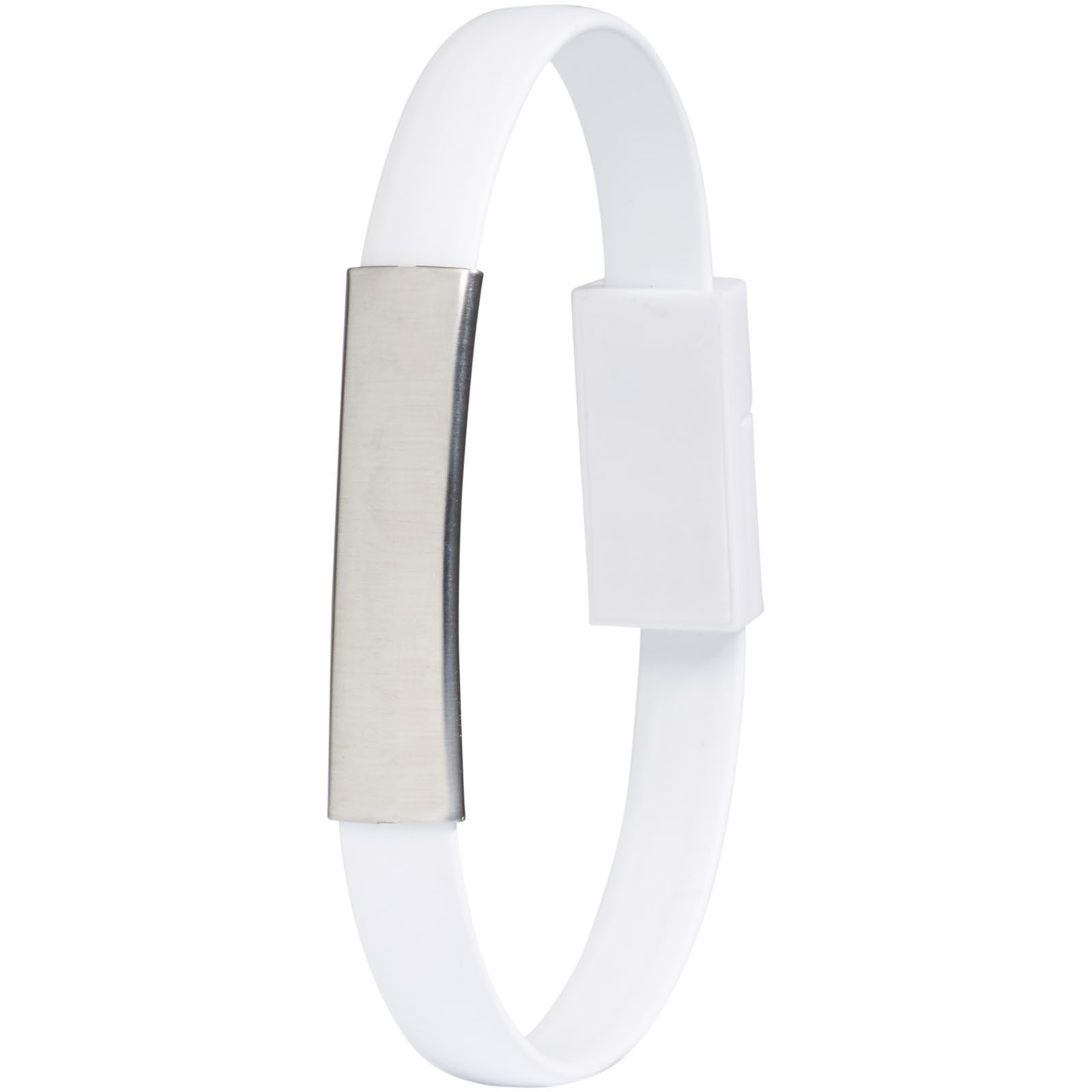 Bracelet 2-in-1 Ladekabel - Weiss