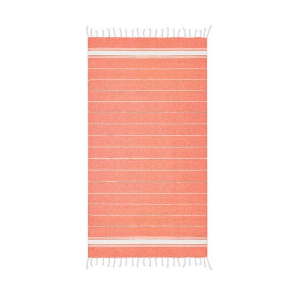 Beach towel cotton  180 gr/m² Malibu - Orange