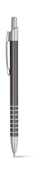 WALK. Στυλό διαρκείας από αλουμίνιο - Σκούρο Γκρι
