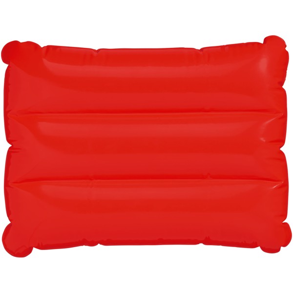 Wave inflatable pillow - Red