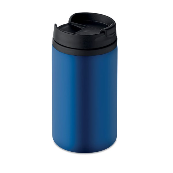 Double wall cup 250 ml Falun - Blue