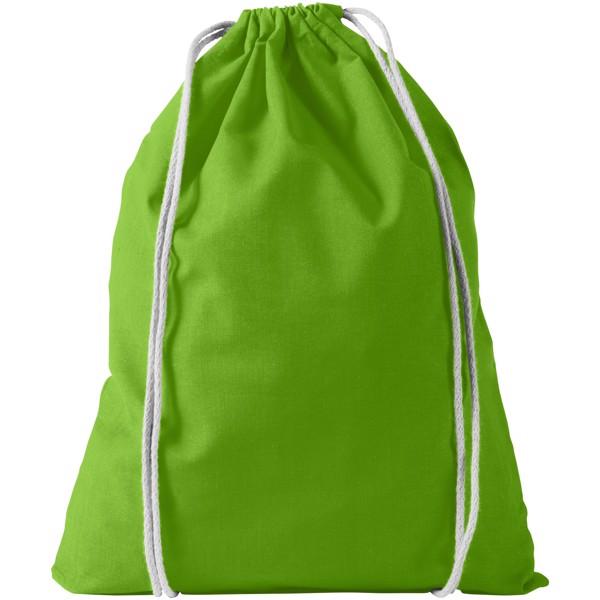 Bavlněný kvalitní batůžek Oregon - Limetka