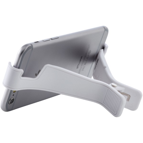 Dock media clip - White