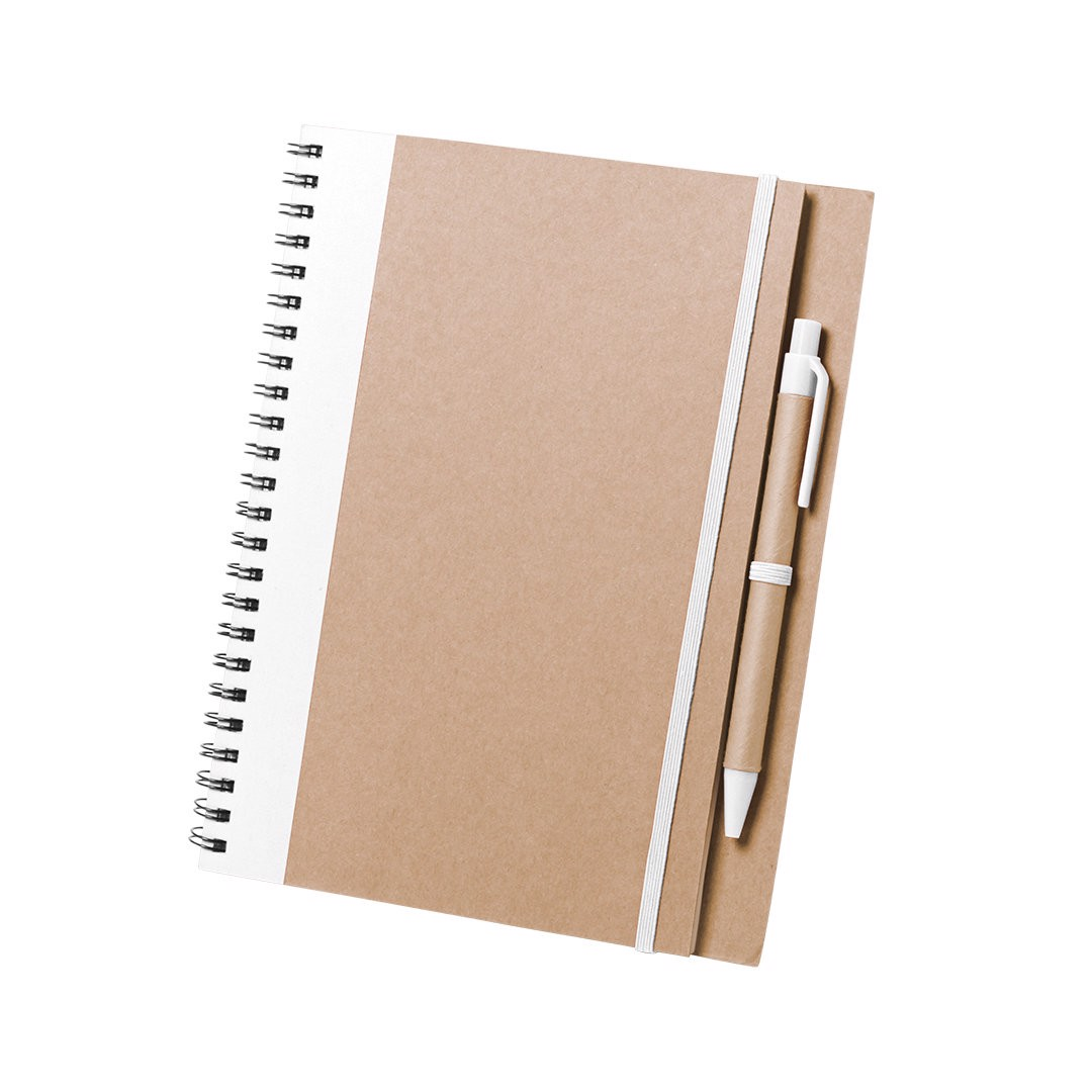 Notebook Tunel - White