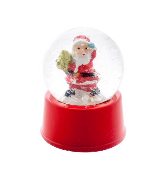Snow Globe Sasky - Red