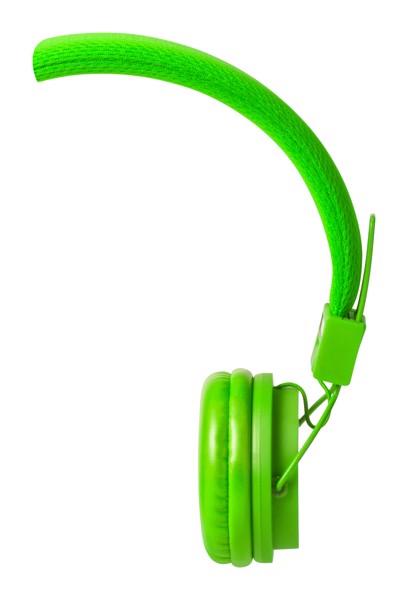 Sluchátka Neymen - Kiwi Zelená
