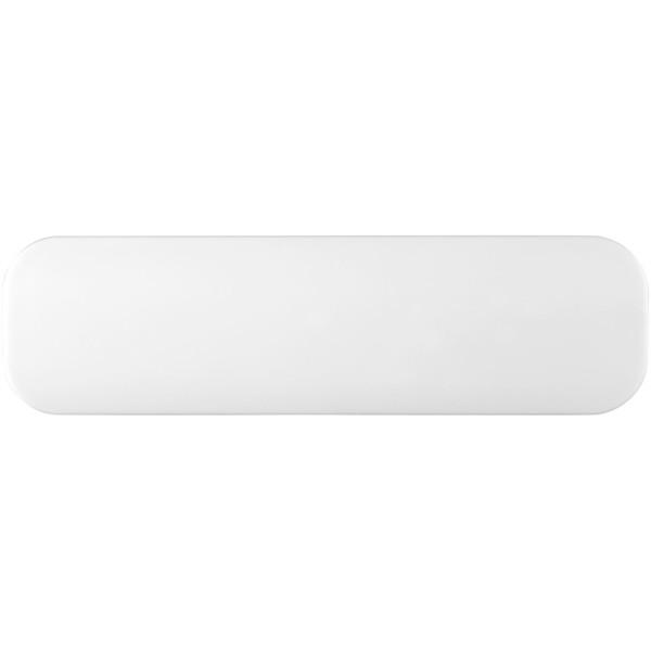 Edge 2000 mAh power bank - White / Solid Black