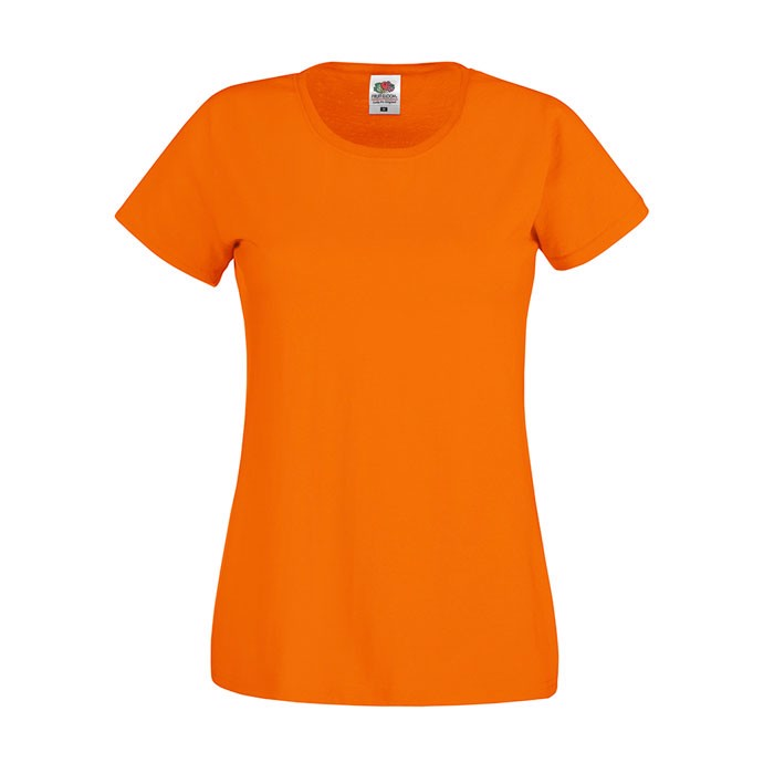 Lady-Fit T-shirt 145 g/m² Lady-Fit Original Tee 61-420-0 - Orange / S