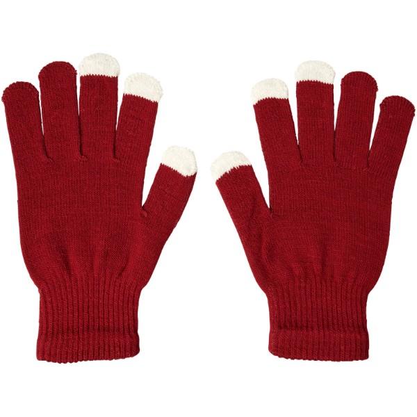 Hmatové rukavice Billy - Červená s efektem námrazy