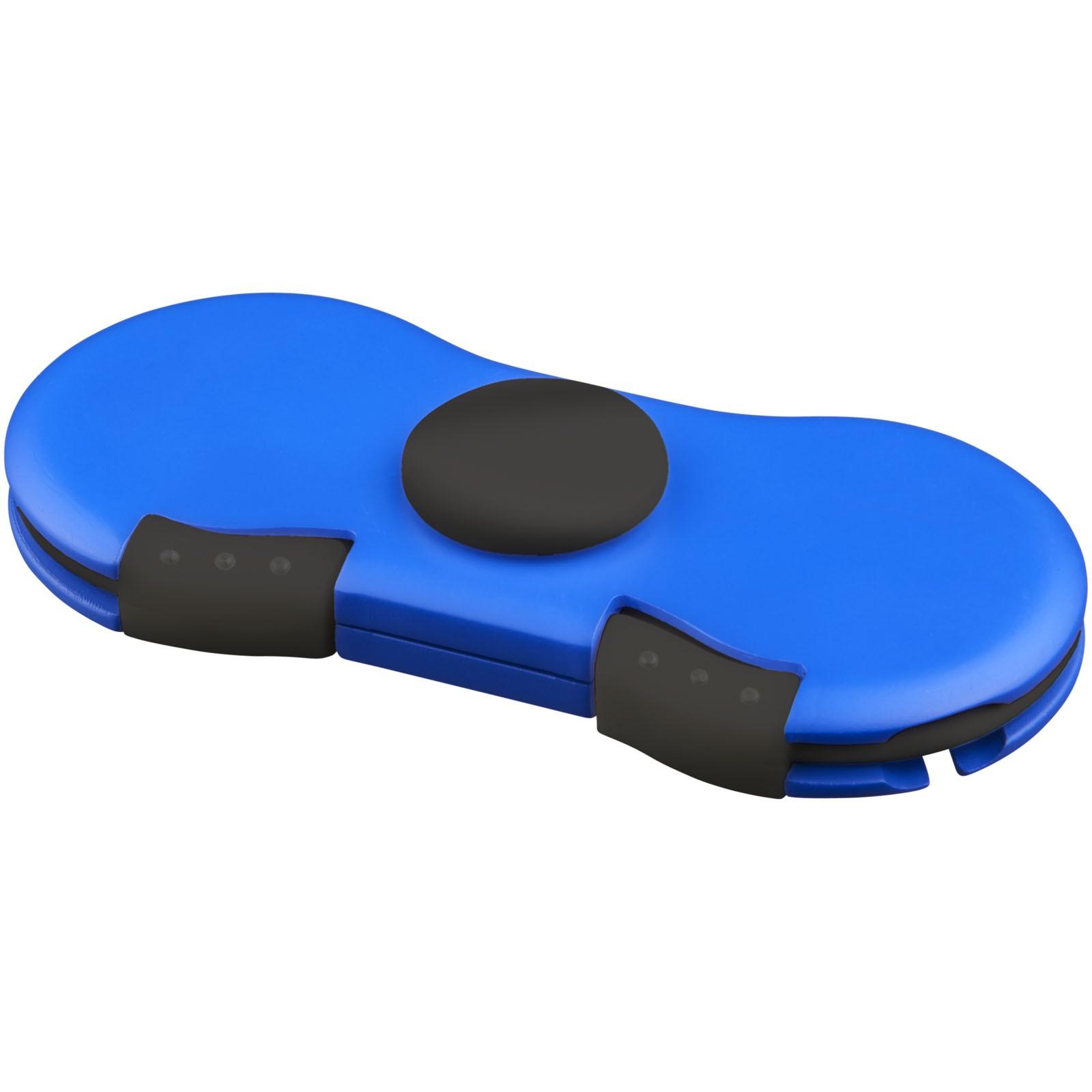 Spinner s napájecím kabelem - Světle modrá