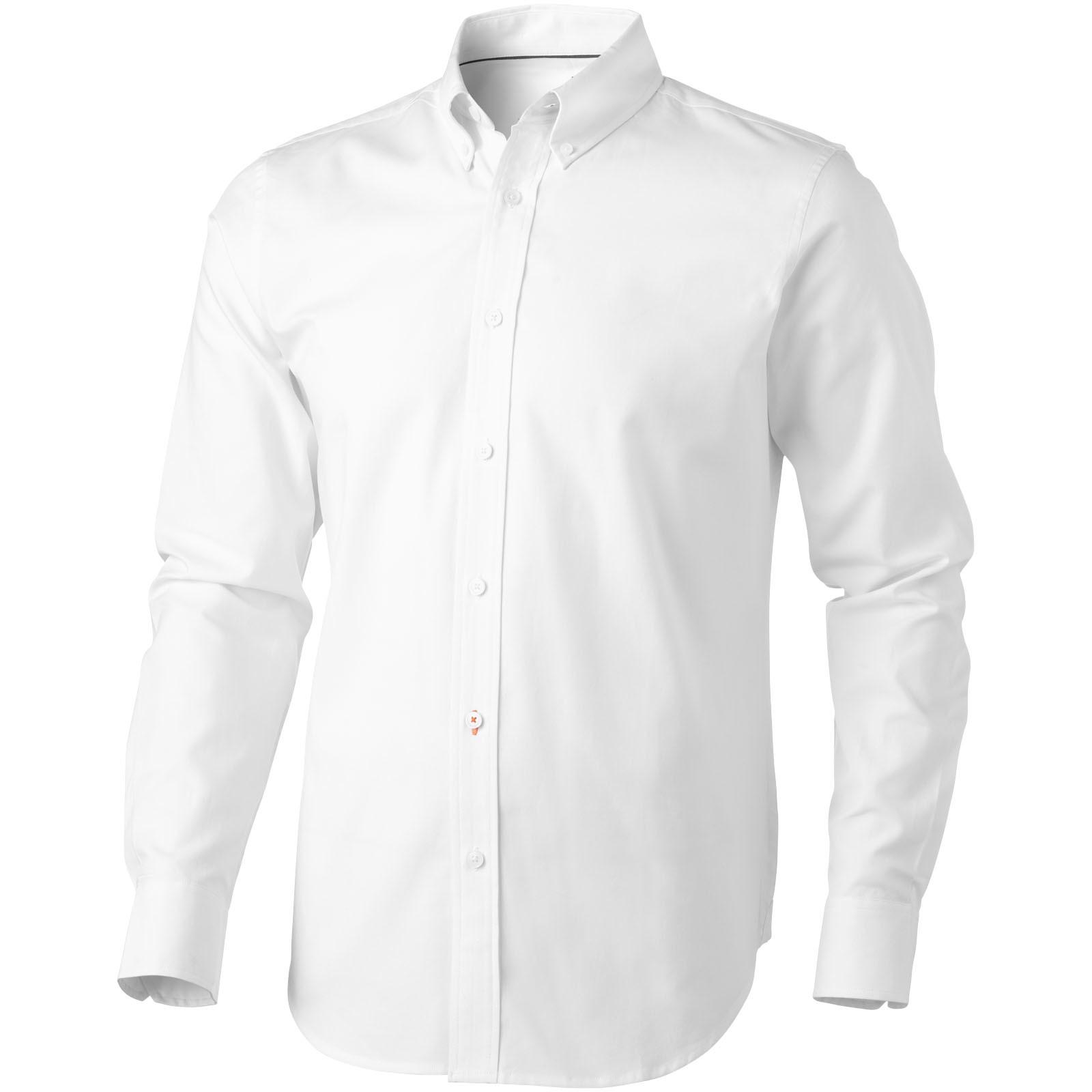 Vaillant košile s dlouhým rukávem - Bílá / XS