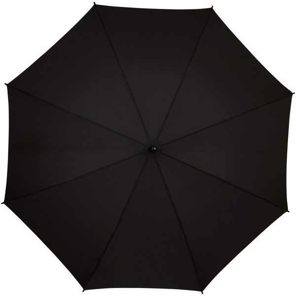 """Stark 23"""" windproof auto open umbrella - White / Solid black"""