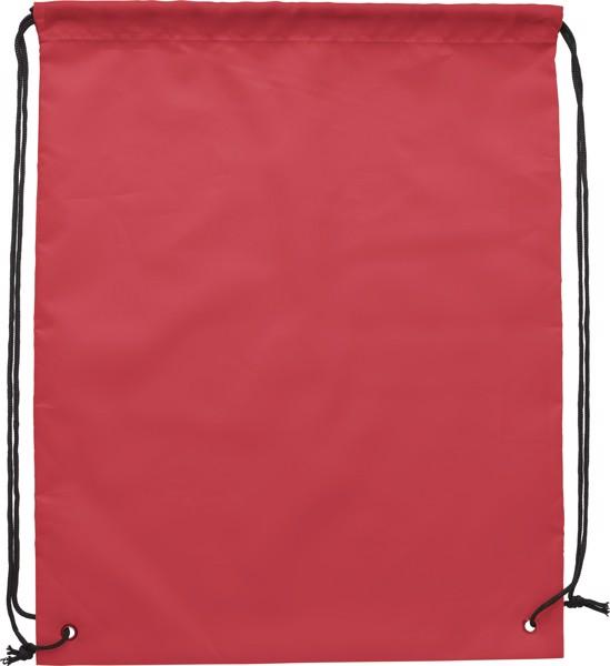 Mochila de poliéster 190T RPET - Red