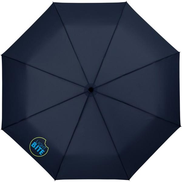 """Skládací deštník Wali 21"""" s automatickým otvíráním - Navy"""