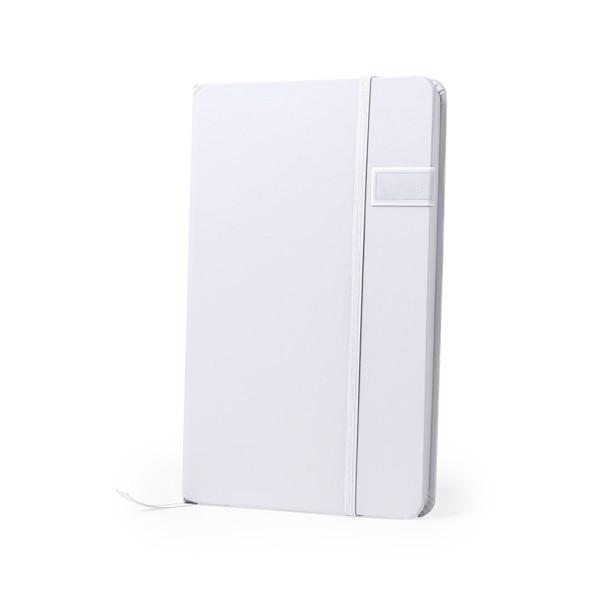 USB Notepad Boltuk - White