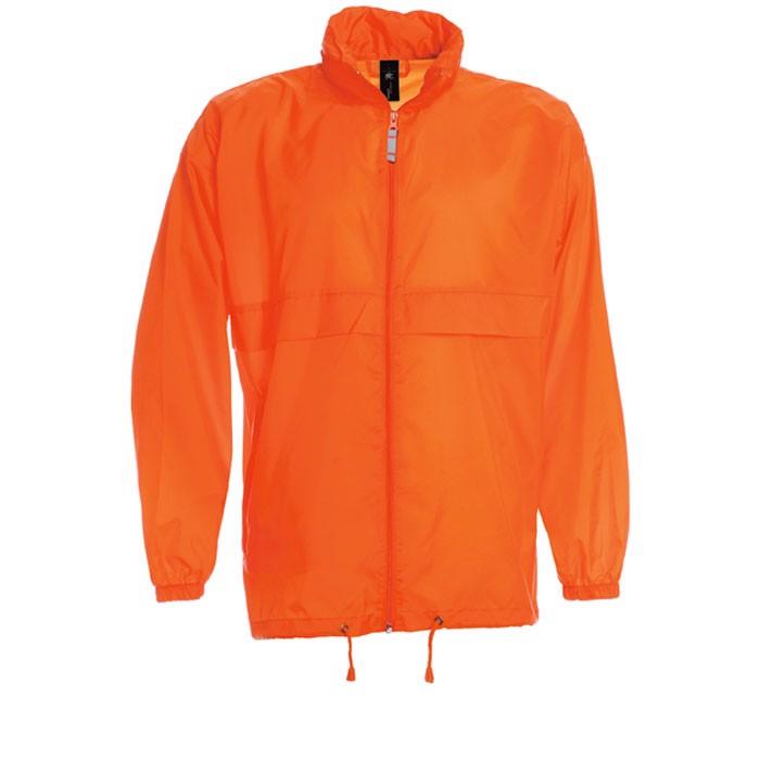 Men's Windbreaker 70 g/m2 Windbreaker Sirocco Ju800 - Orange / S