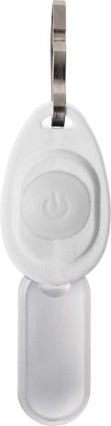 LED Reißverschluss Licht 'Zipper' aus Kunststoff - White