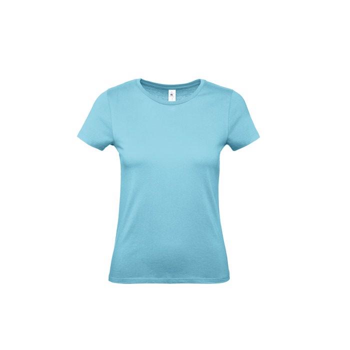 Dámské triko 145 g/m² #E150 /Women T-Shirt - Turquoise / XXL