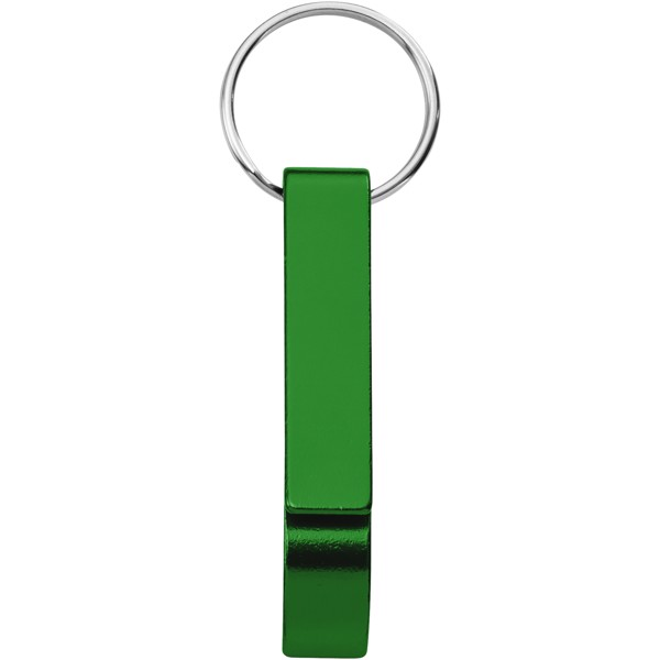 Tao bottle and can opener keychain - Green