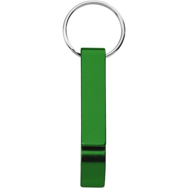 Klíčenkový otvírák lahví a konzerv Tao - Zelená