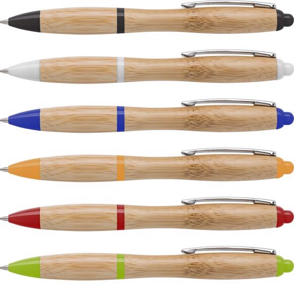 Bamboo ballpen - Orange