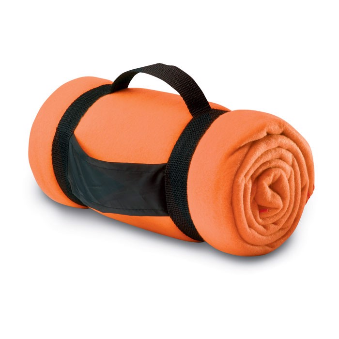 Fleece blanket Stavenger - Orange
