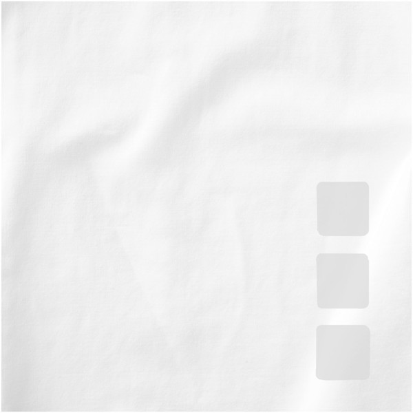 Kawartha short sleeve men's organic t-shirt - White / XS
