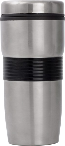 Vaso de acero inox, doble pared - Black