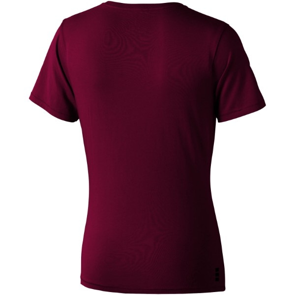 Nanaimo short sleeve women's T-shirt - Burgundy / XL