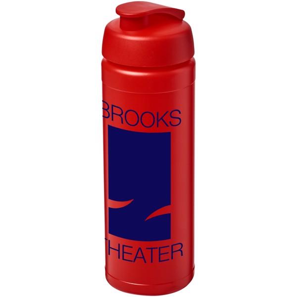 Baseline® Plus 750 ml flip lid sport bottle - Red