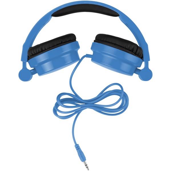 Skládací sluchátka Rally - Světle modrá