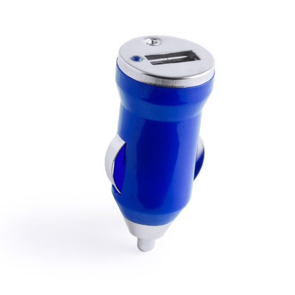 Cargador Coche USB Hikal - Blanco