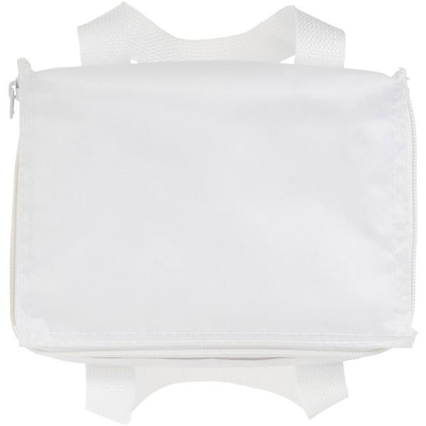Termotaška Malmo na 6 plechovek - White Solid