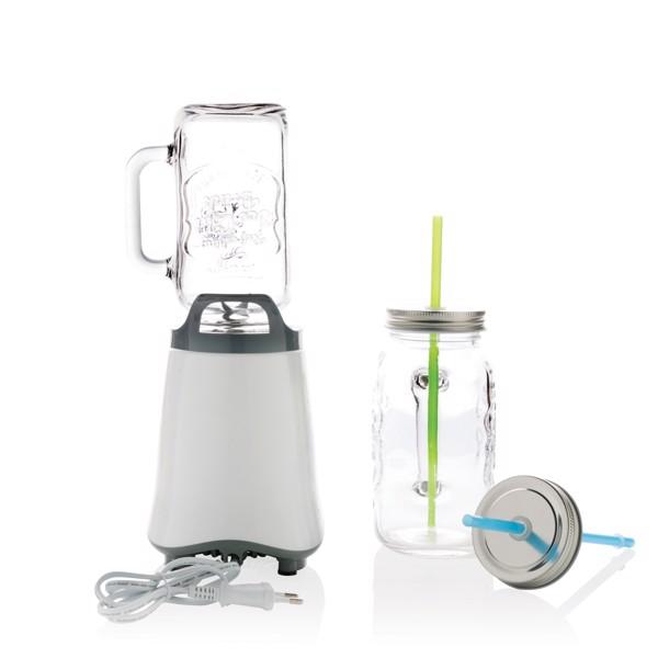 Mixér se zavařovací sklenicí