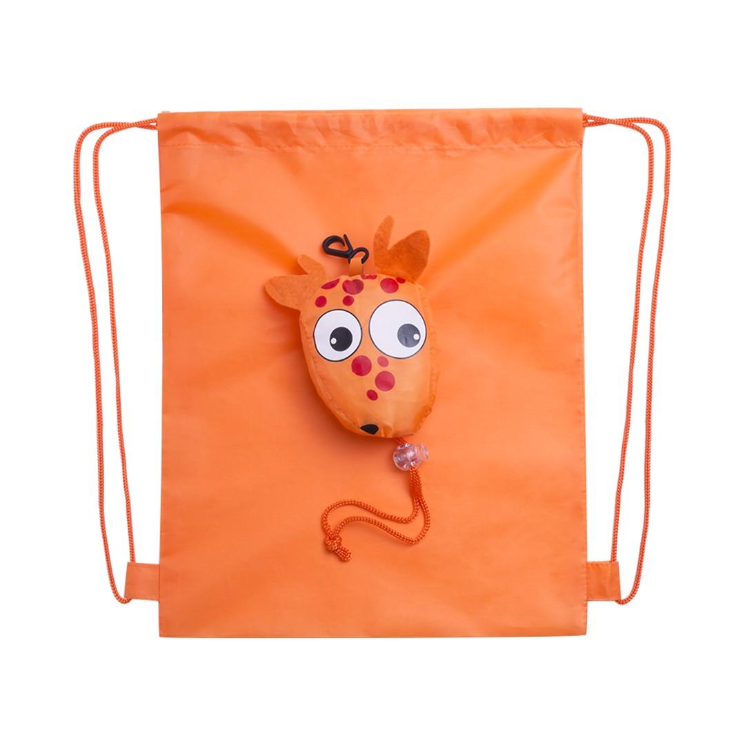 Mochila Plegable Kissa - Naranja