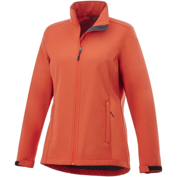 Maxson softshell ladies jacket - Orange / XS