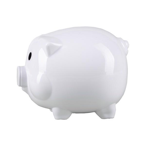 Skarbonka Moneywise - Biały