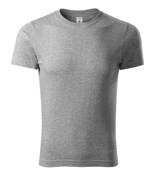 T-shirt unisex Piccolio Paint - Dark Gray Melange / S