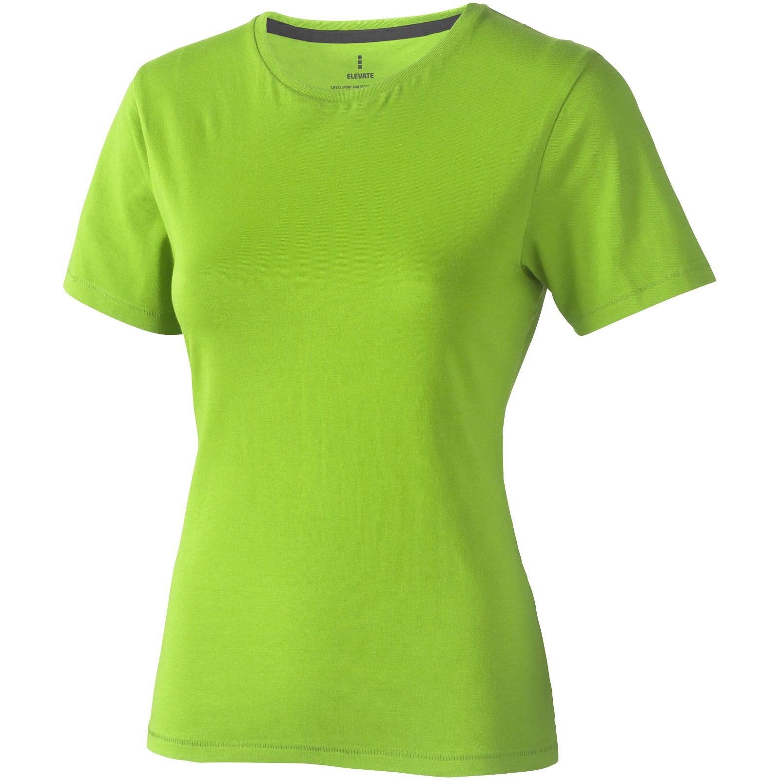 Dámské triko Nanaimo s krátkým rukávem - Zelené jablko / XS