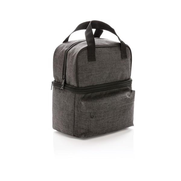 Chladící taška s dvěma izolovanými oddíly