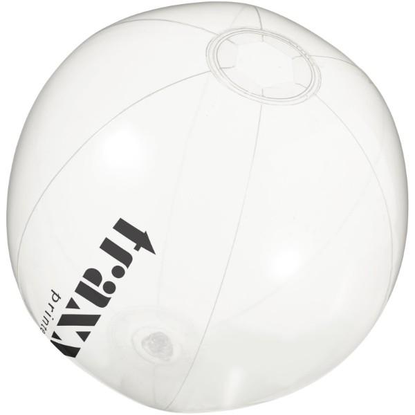 Průhledný plážový míč Ibiza - Průhledná Bezbarvá