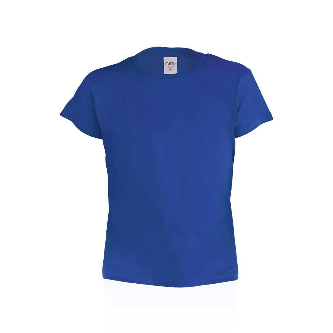 Camiseta Niño Color Hecom - Azul / 6-8