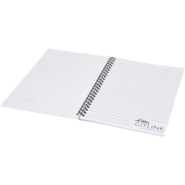 Poznámkový blok Desk-Mate® wire-o A4 - Bílá / Černá / 50 pages