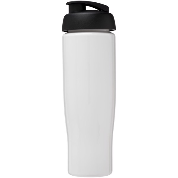Sportovní láhev s vyklápěcím víčkem H2O Tempo® 700 ml - Bílá / Černá