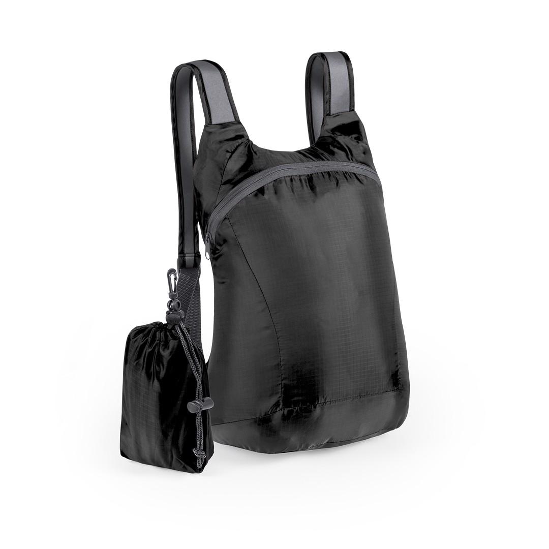 Mochila Plegable Ledor - Negro